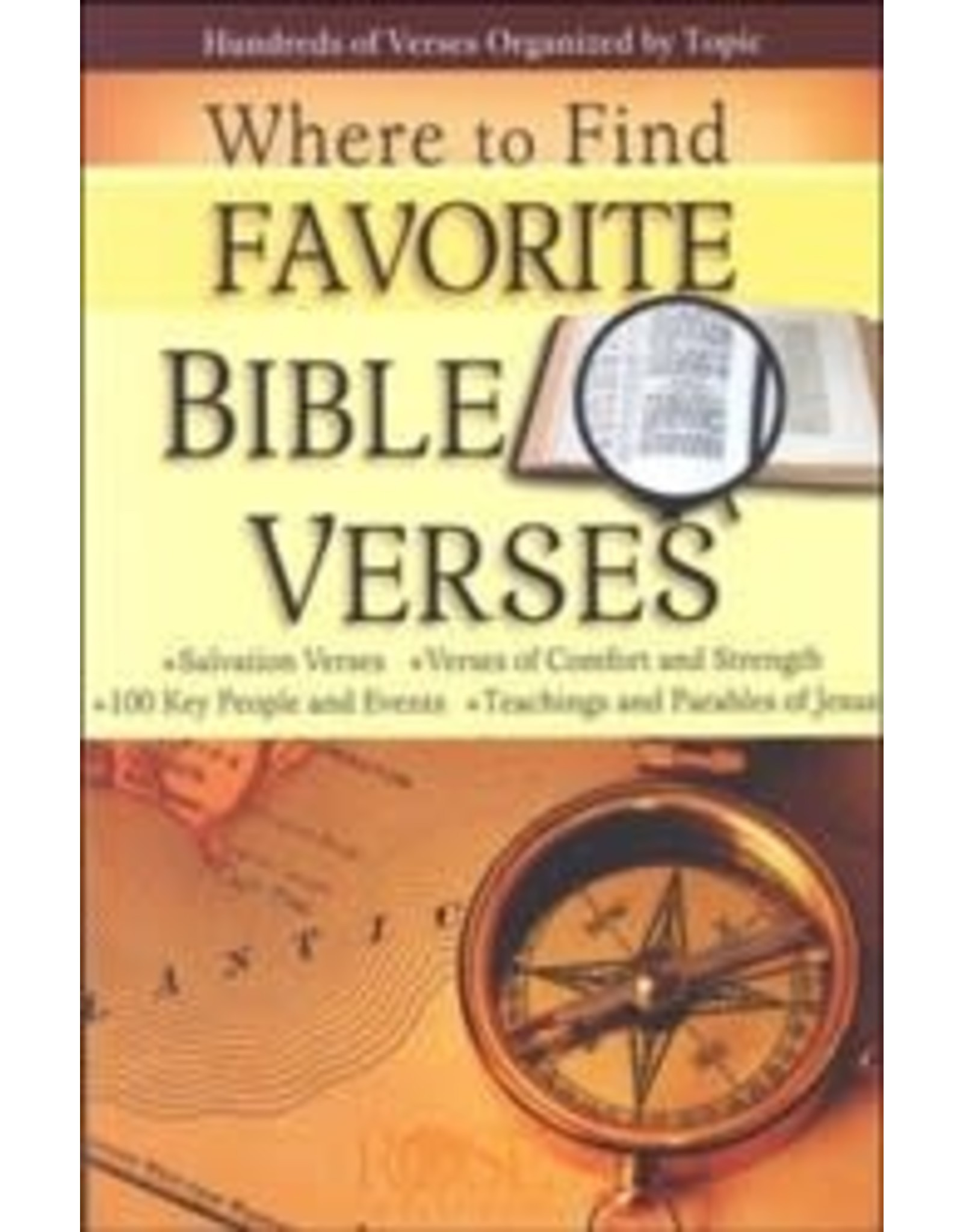 Rose Publishers Where to Find Favourite Bible Verses