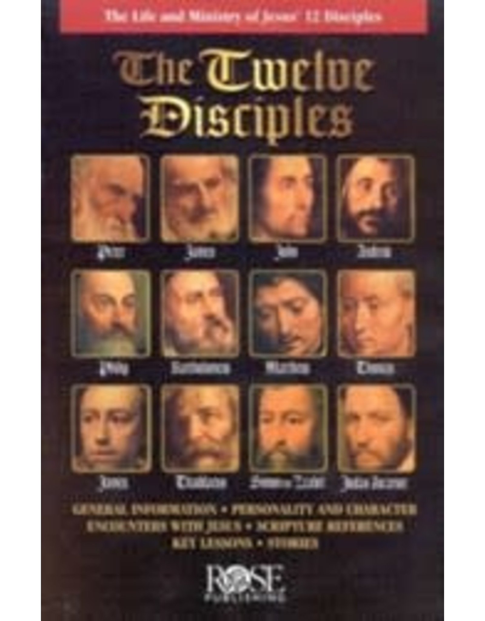 Rose Publishers The Twelve Disciples