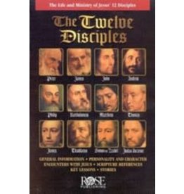 Rose Publishers The Twelve Disciples