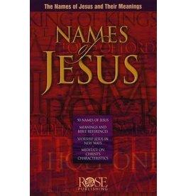 Rose Puiblishers Names of Jesus