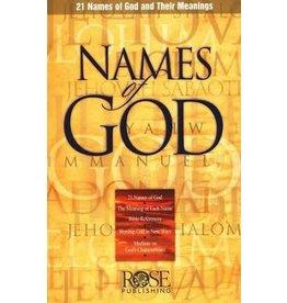 Rose Publishers Names of God