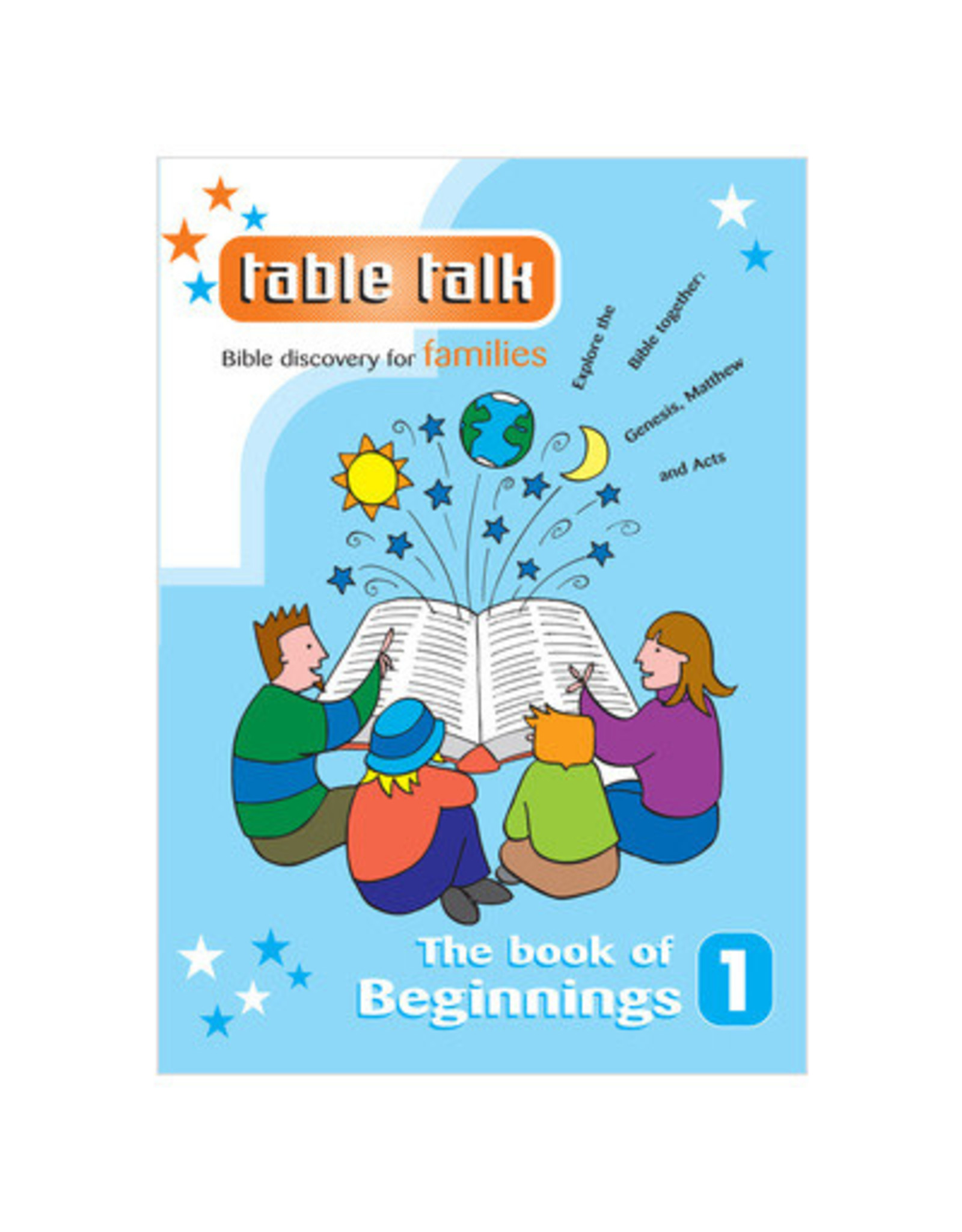 Table Talk The Book of Beginnings Issue 1