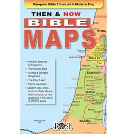 Rose Publishers Then and Now Bible Maps