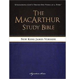 MacArthur NKJV MacArthur Study Bible Hardcover