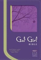 NKJ God Girl Bible Purple/Green