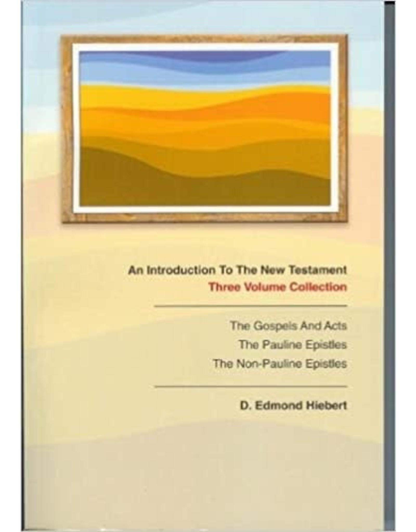 Hiebert An Introduction to the New Testament