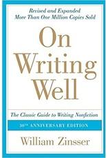 Zinsser On Writing Well