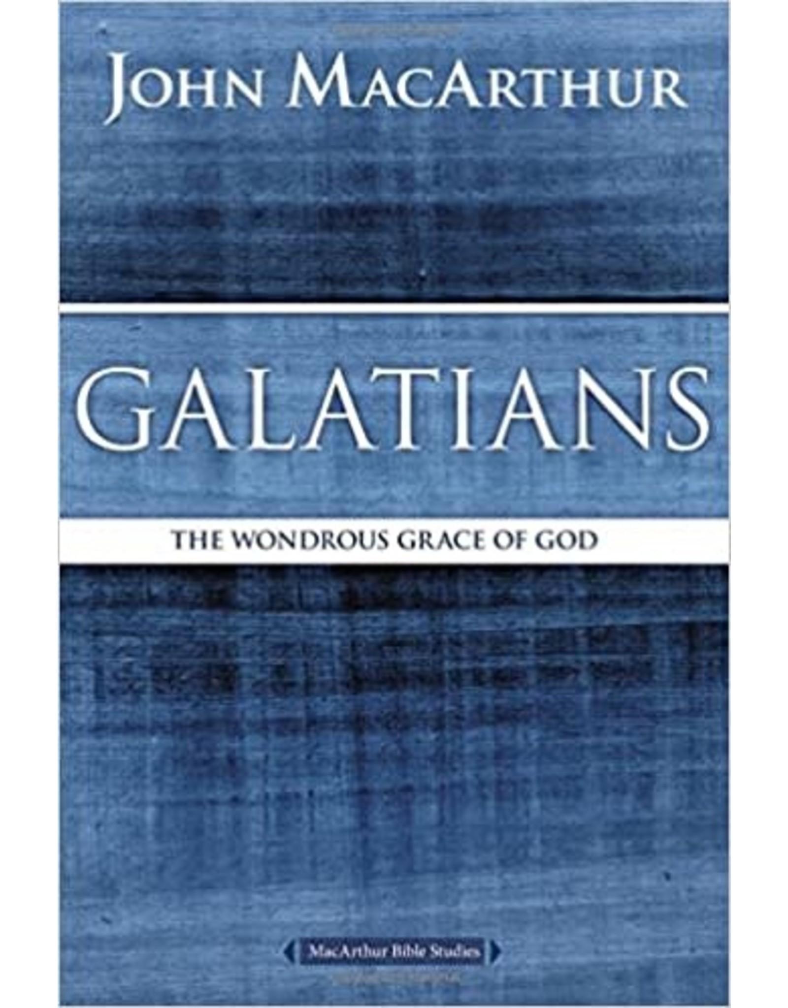 MacArthur Galatians: The Wondrous Grace of God (MacArthur Bible Studies)