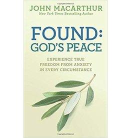 MacArthur Found: God's Peace
