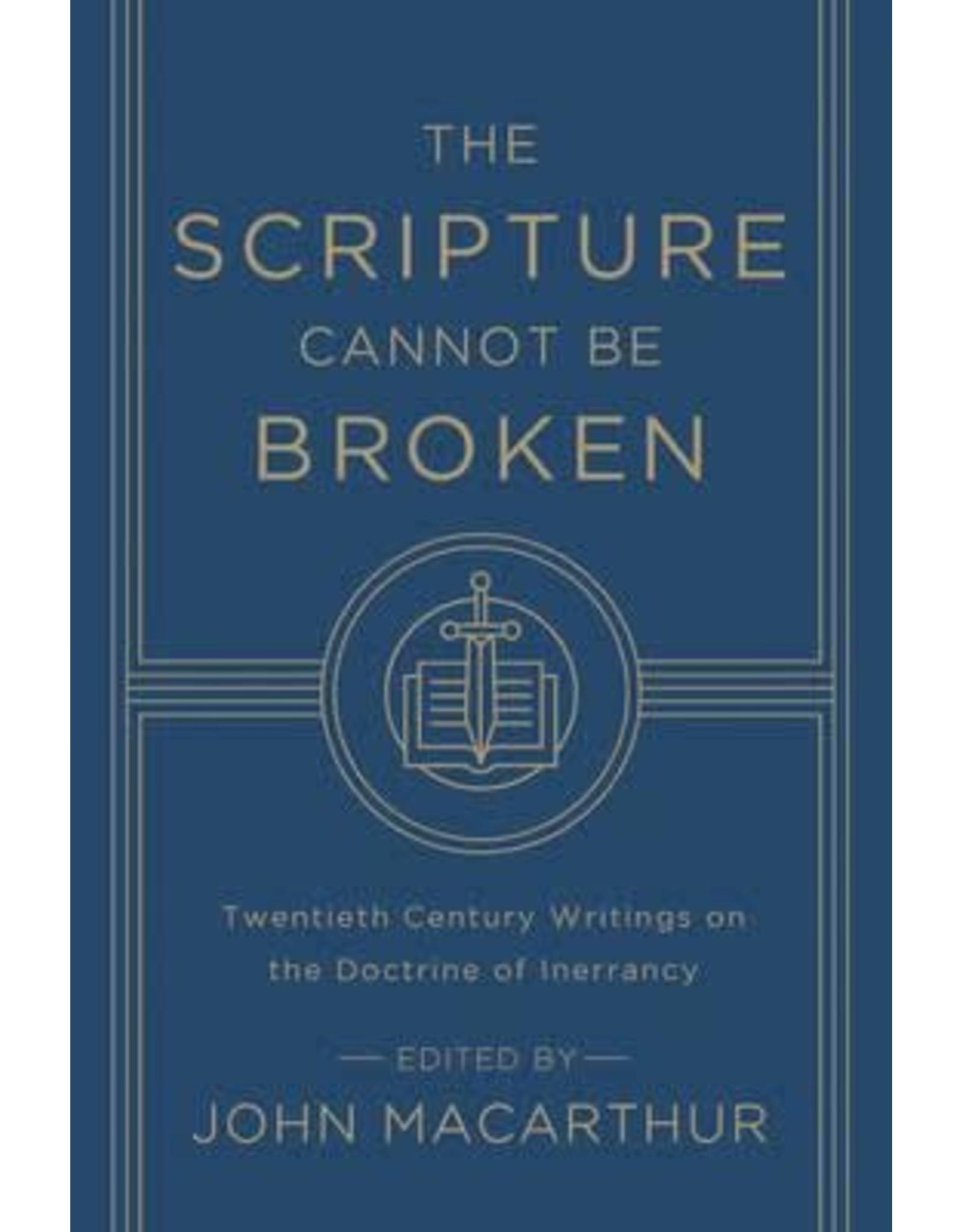 MacArthur The Scripture Cannot be Broken