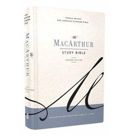 MacArthur NASB MacArthur Study Bible  Second Edition - Hardcover