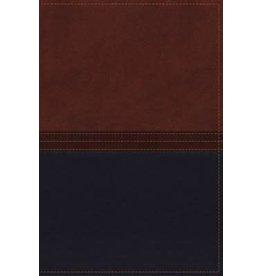 MacArthur NKJV MacArthur Study Bible Leathersoft Auburn/Navy