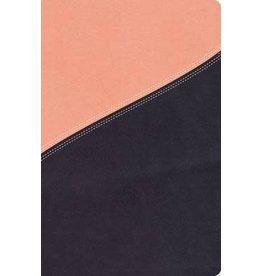MacArrthur NKJV MacArthur Study Bible - Leathersoft Salmon/Dusk Blue