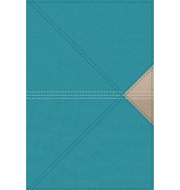 NASB Thinline Giant Print Teal Leathersoft