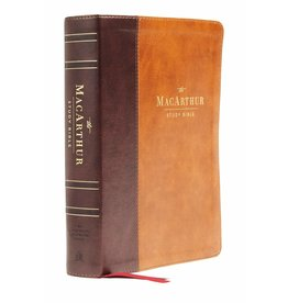 MacArthur NASB MacArthur Study Bible Second Edition - Leathersoft Mahogany/Brown