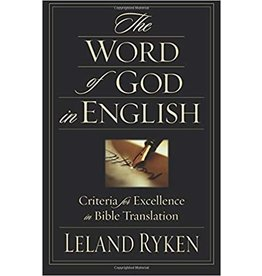Ryken The Word of God in English