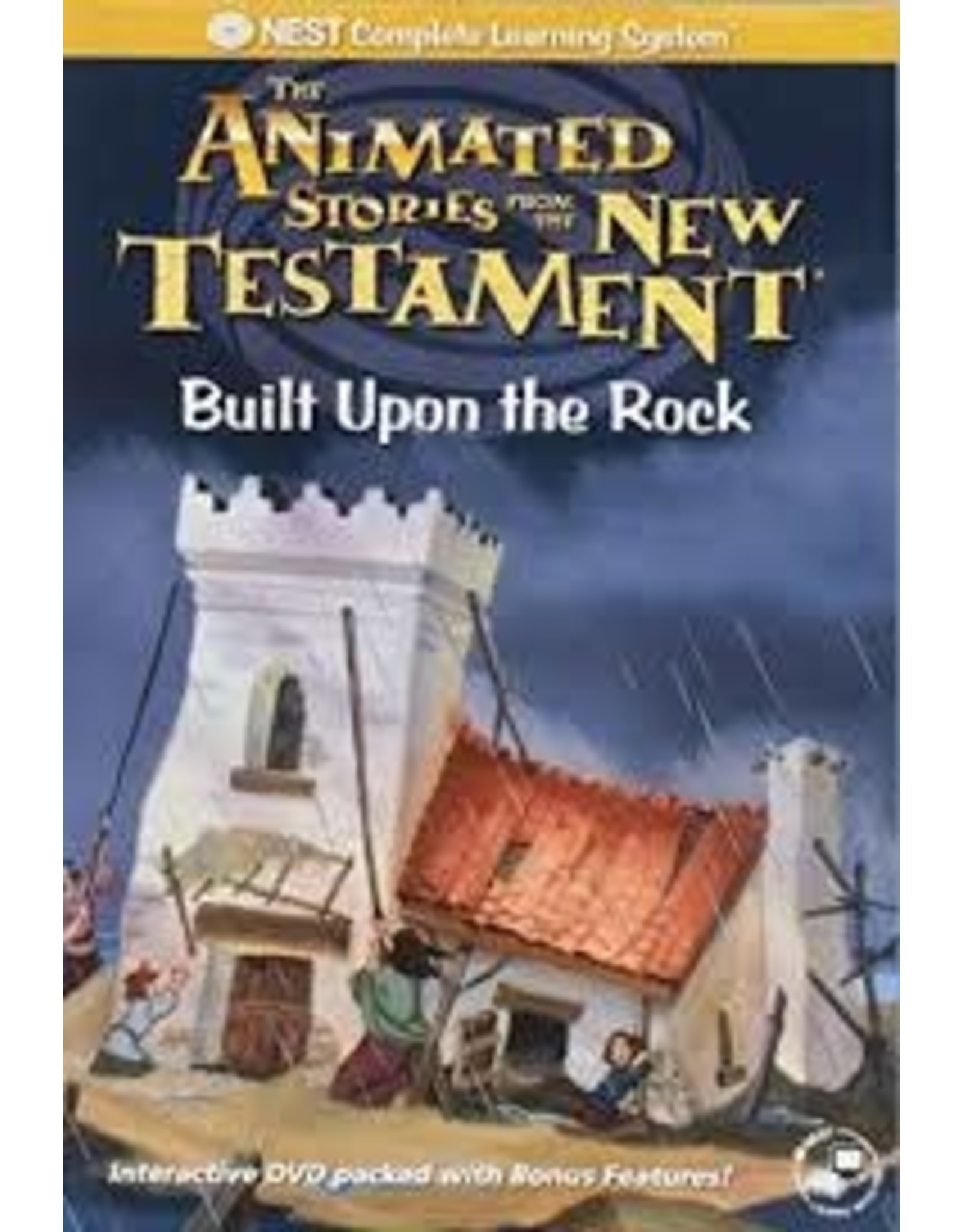 Animated Built Upon The Rock Bible stories DVD