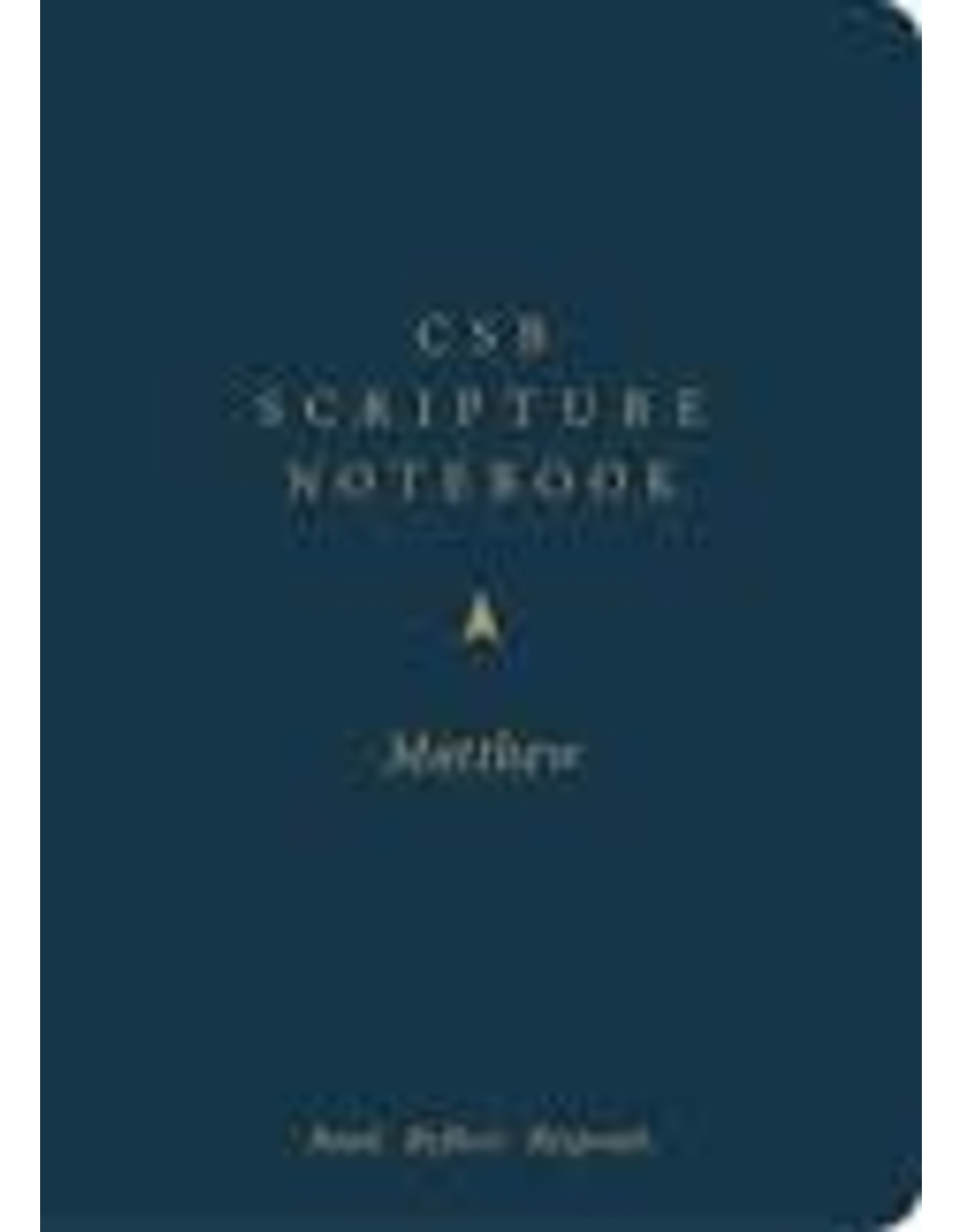 Holman CSB Scripture Notebook - Matthew