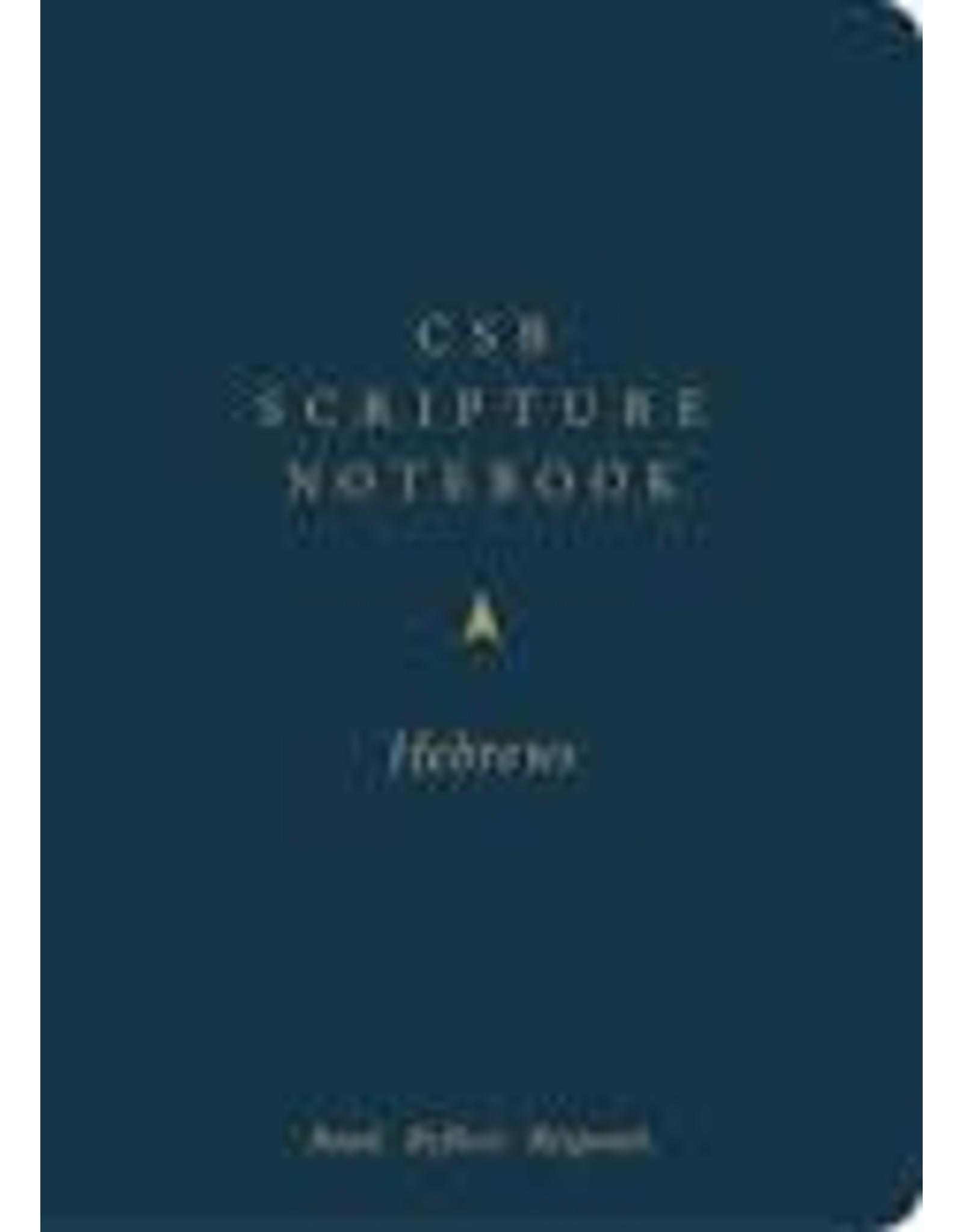 Holman CSB Scripture Notebook - Hebrews