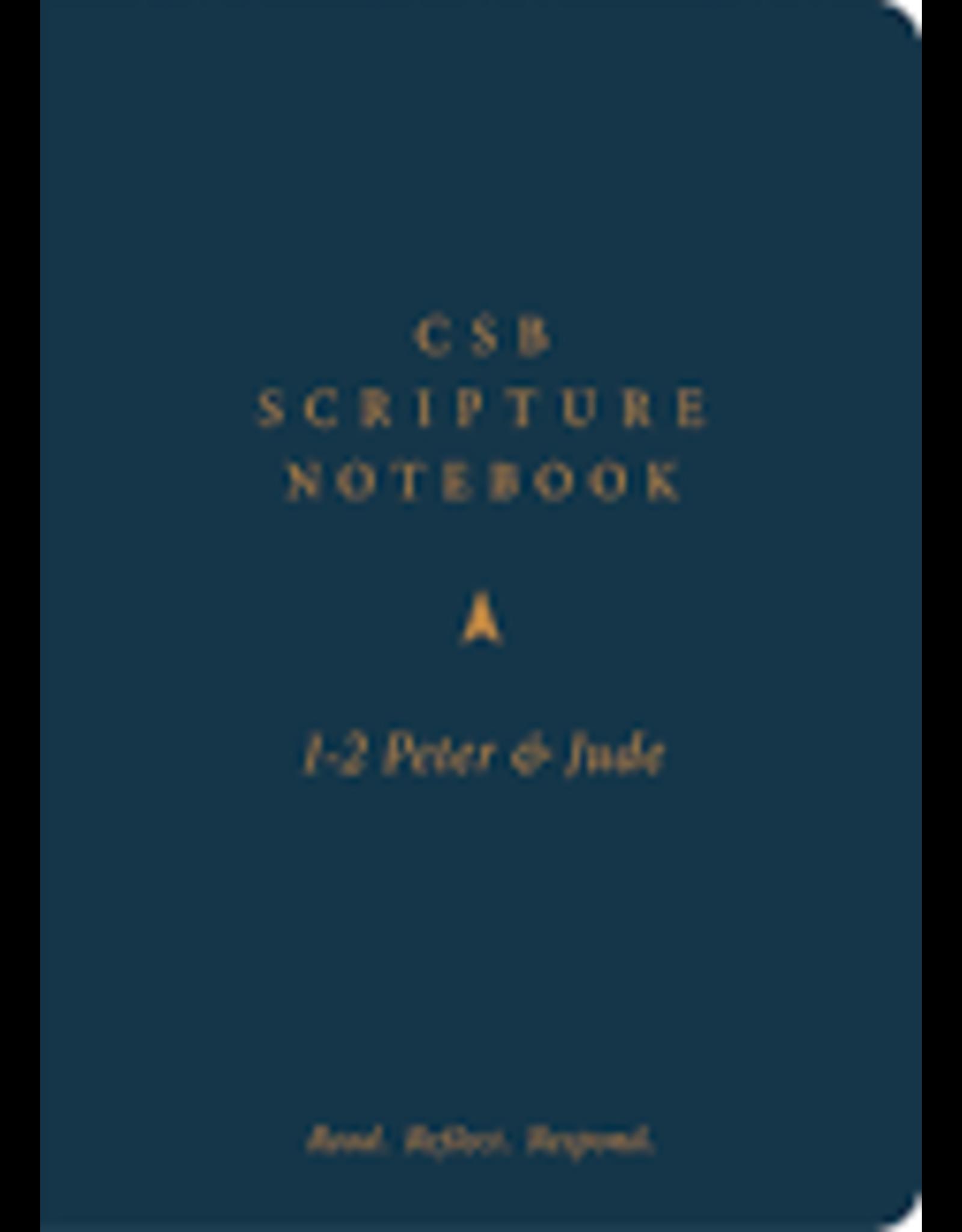 Holman CSB Scripture Notebook - 1-2 Peter & Jude