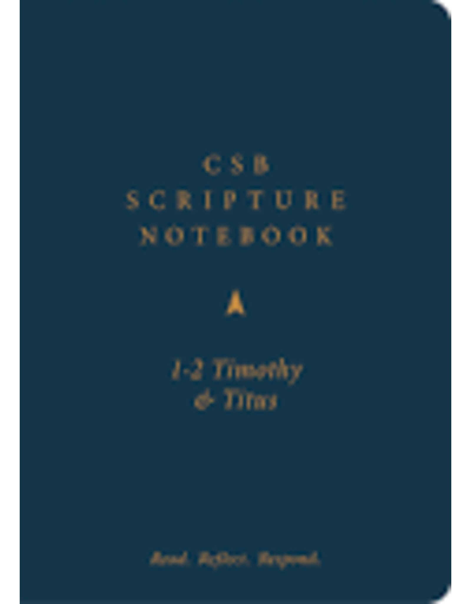 Holman CSB Scripture Notebook - 1-2Timothy & Titus