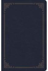Holman CSB Bible - Large Print, Navy Leathertouch