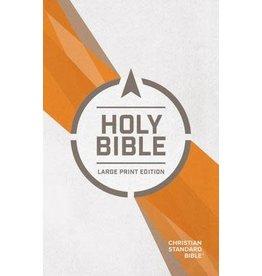 Holman CSB Outreach Bible - Large Print - Paperback