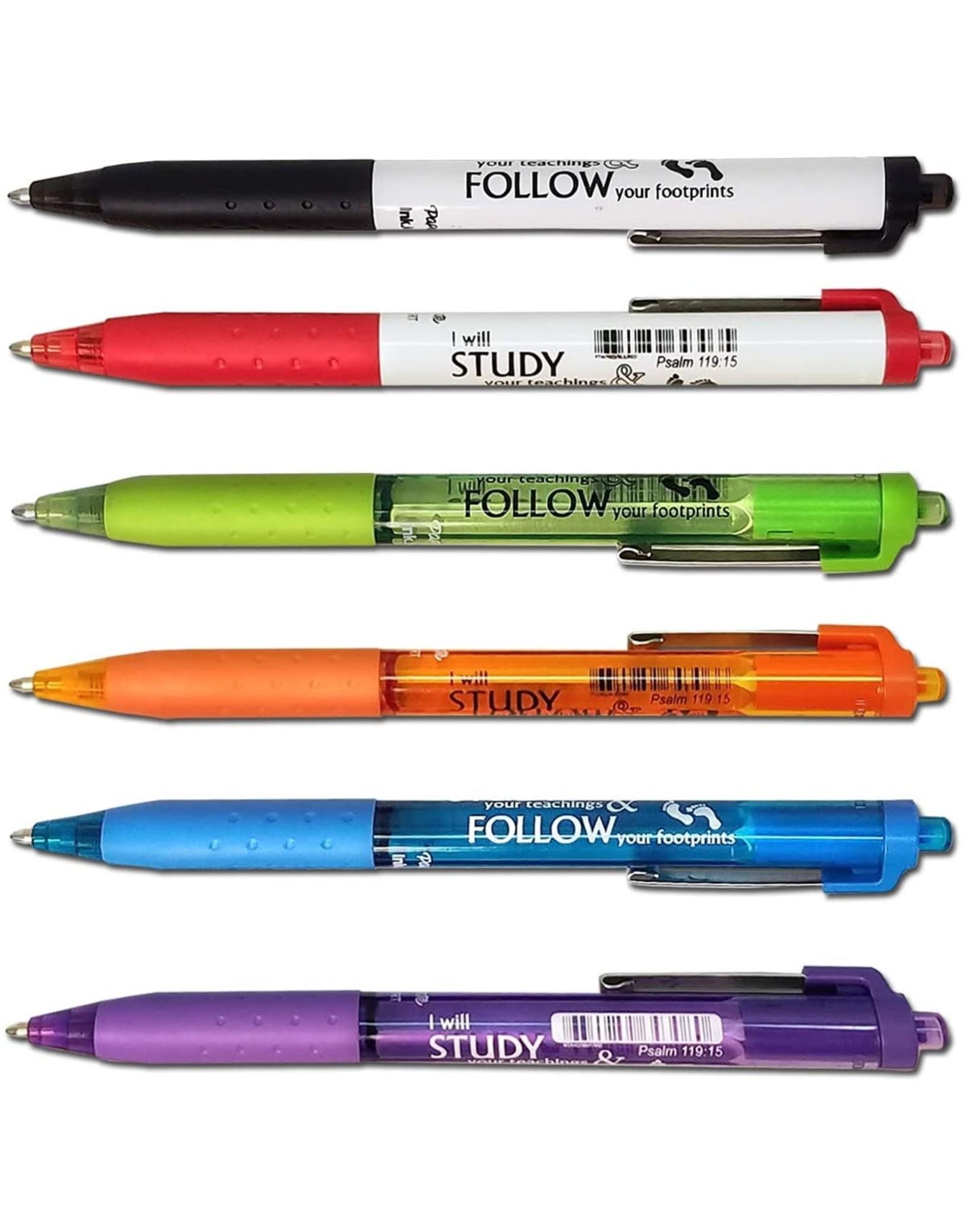 Bible Study Underliner / Note Pen - Orange