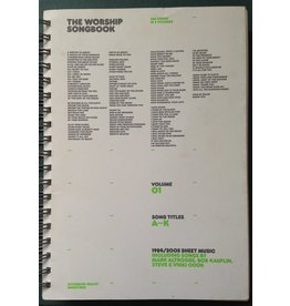 Sovereign Grace Worship Songbook  Vol 1
