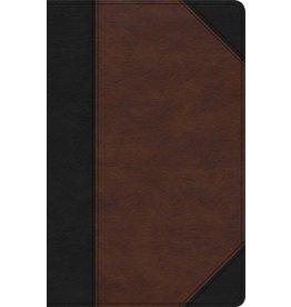 Holman Holman, KJV, Large Print, Black Brown, INDEXED