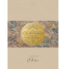 B & H The Lost Sermons of C. H. Spurgeon - Vol 5. Leather bound. Collectors Edition.