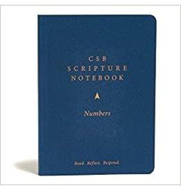 Holman CSB Scripture Notebook - Numbers
