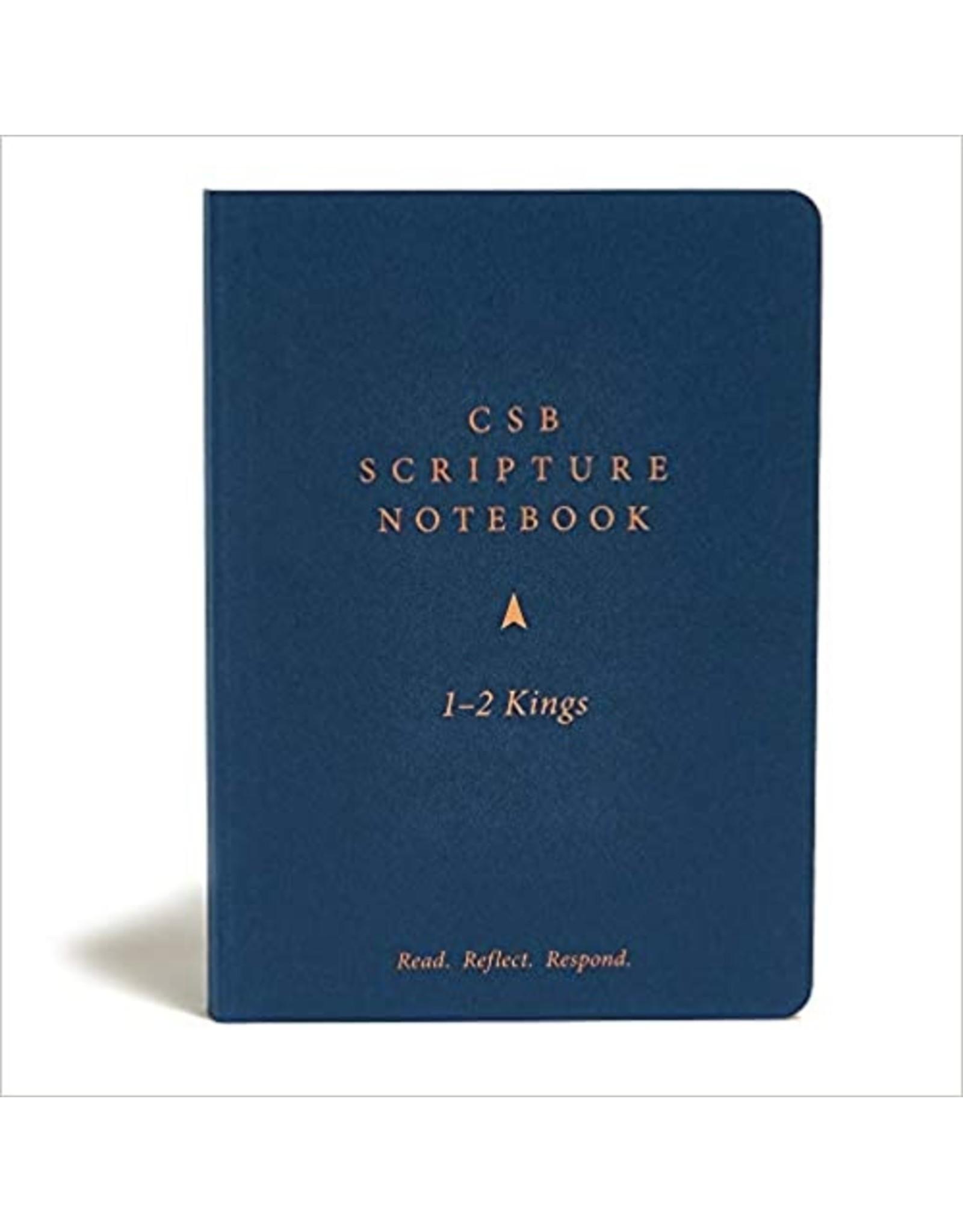 Holman CSB Scripture Notebook - 1-2 Kings