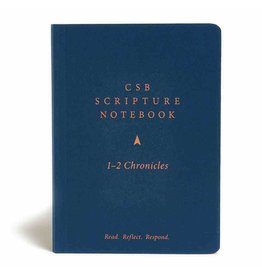 Holman CSB Scripture Notebook - 1-2 Chronicles