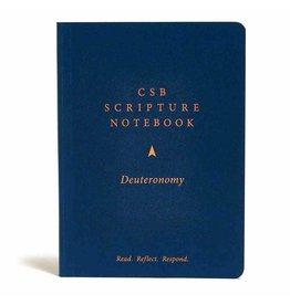 Holman CSB Scripture Notebook - Deuteronomy