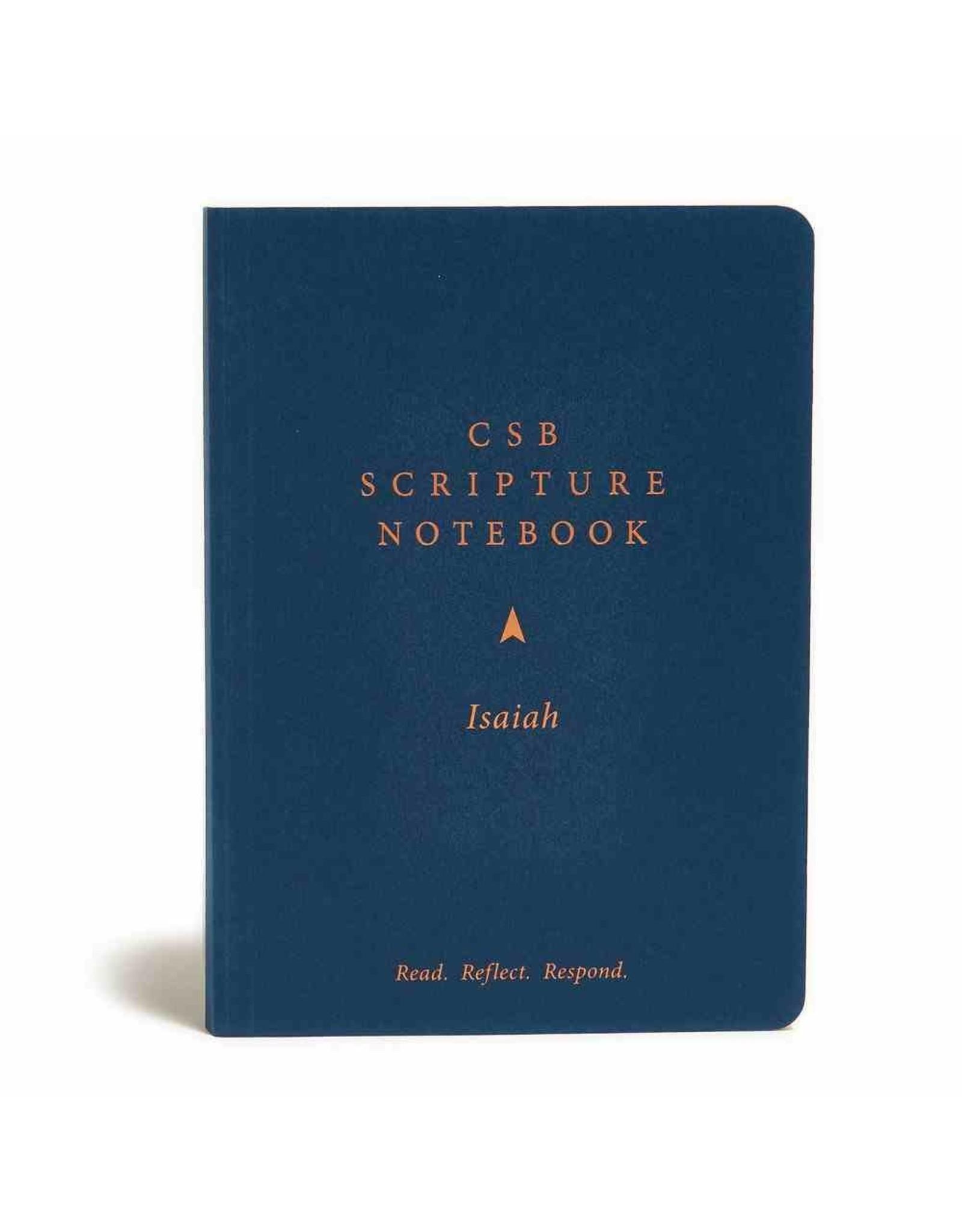 Holman CSB Scripture Notebook - Isaiah