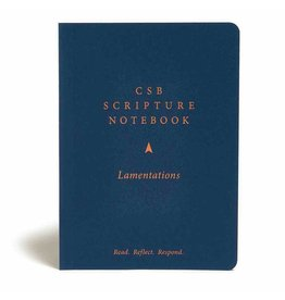 Holman CSB Scripture Notebook - Lamentations
