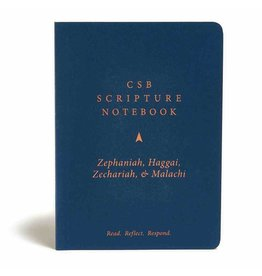 Holman CSB Scripture Notebook - Zephaniah, Haggai, Zechariah & Malachi