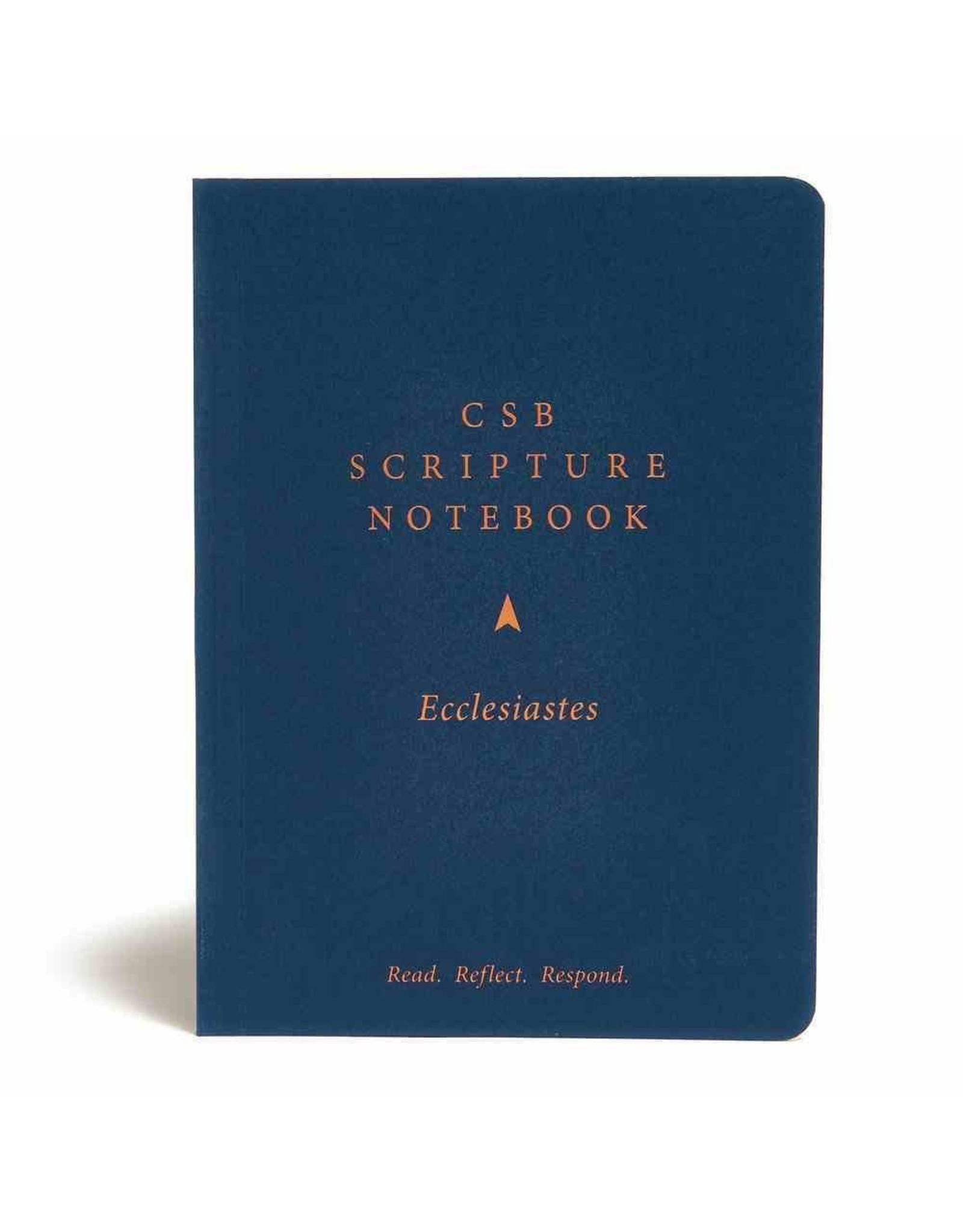 Holman CSB Scripture Notebook - Ecclesiastes