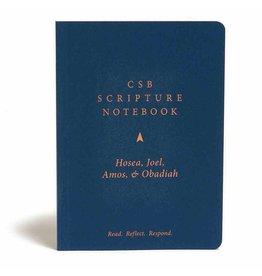 Holman CSB Scripture Notebook - Hosea, Joel, Amos & Obadiah