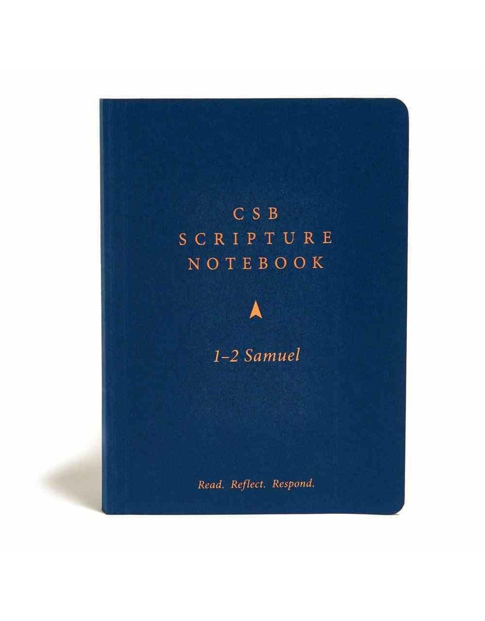 Holman CSB Scripture Notebook - 1 - 2 Samuel