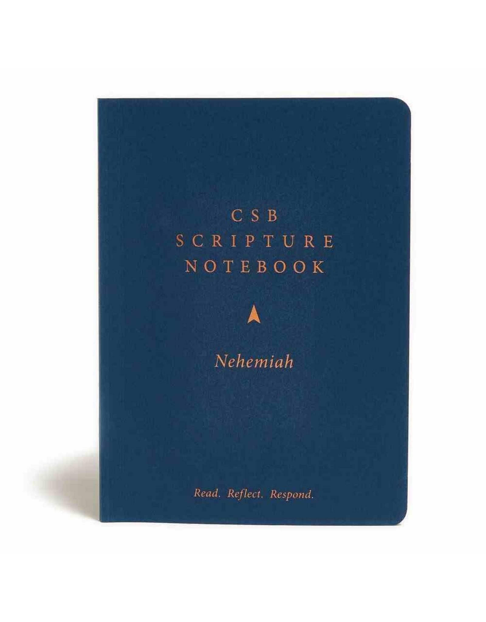 Holman CSB Scripture Notebook - Nehemiah