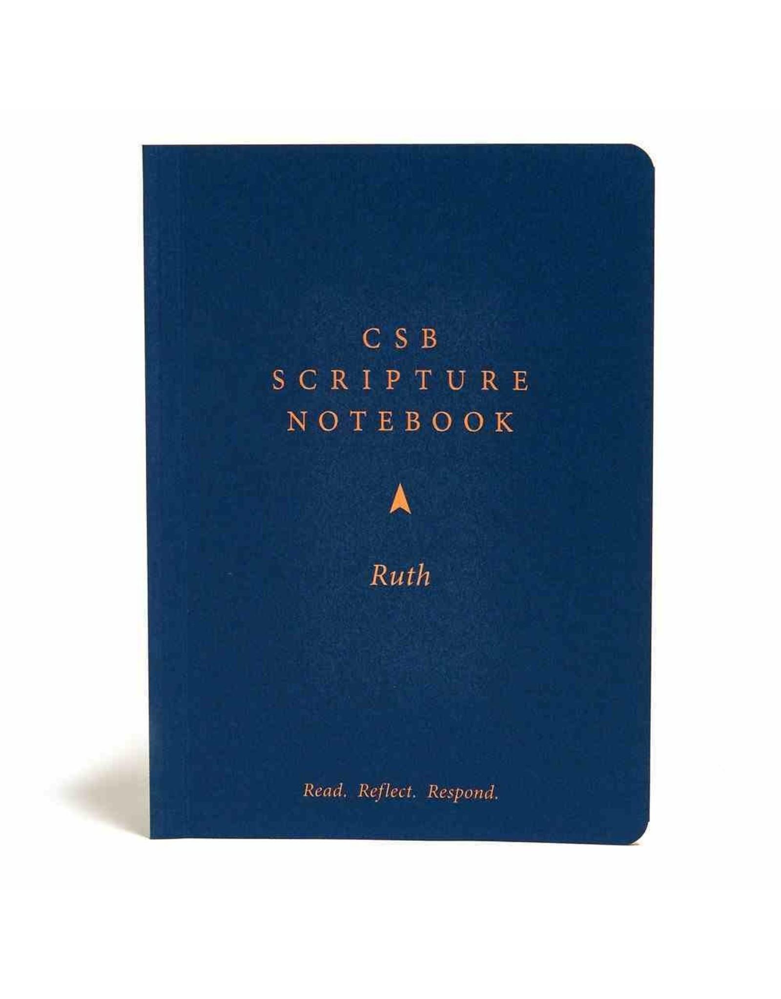 Holman CSB Scripture Notebook - Ruth