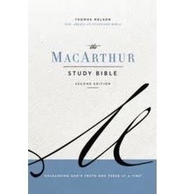 NASB MacArthur Study Bible  Second Edition - Paperback
