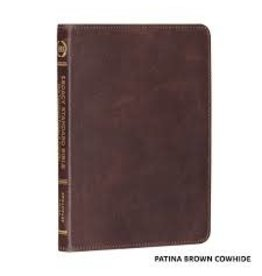 Legacy Standard Bible - New Testament, Psalms and Proverbs, Brown