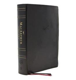 NKJV MacArthur Study Bible Second Edition Black Leathersoft