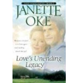 Janette Oke Loves Unending Legacy