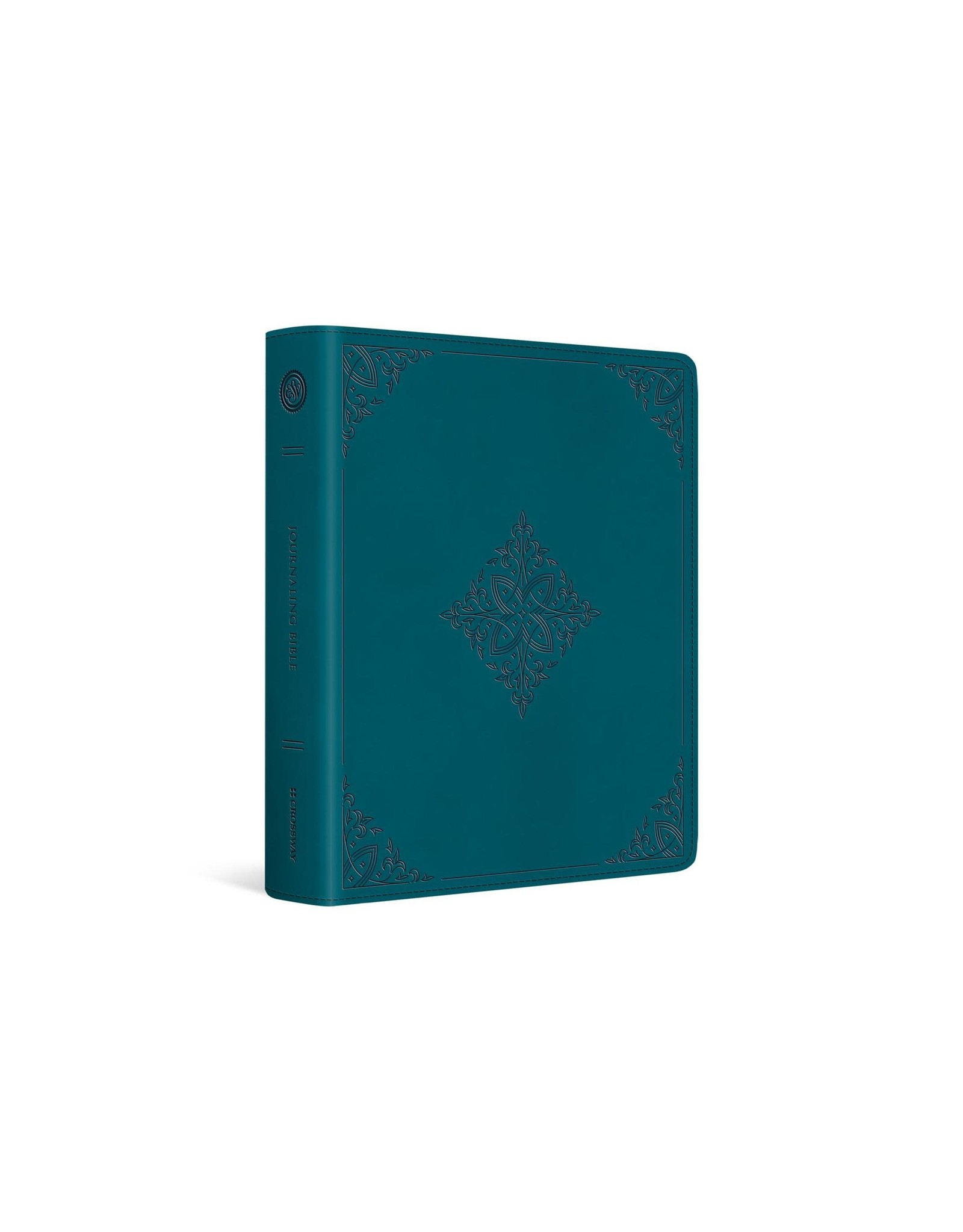 ESV Journaling Bible - Trutone Deep Teal