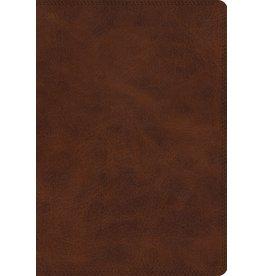 ESV Giant Print Bible, Trutone, Deep Brown