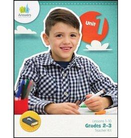 Answers Bible Curriculum - Lessons 1-10 - Grades 2-3 Teacher Kit